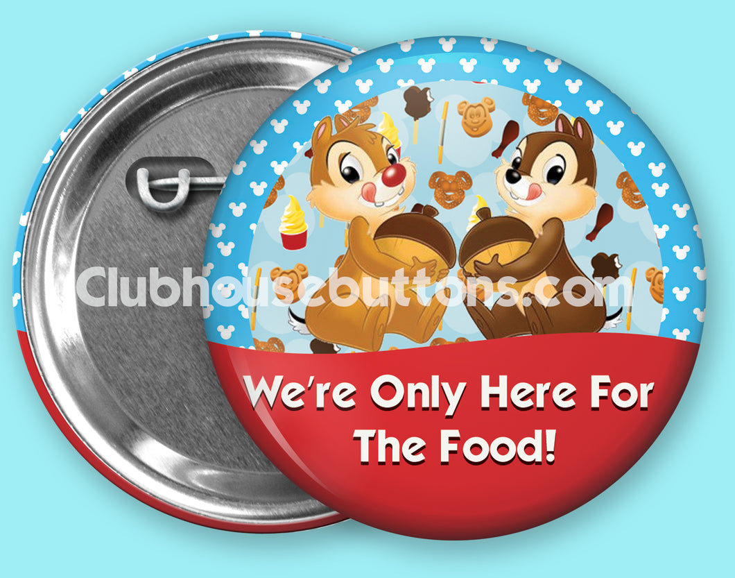 Chip and Dale Foodie
