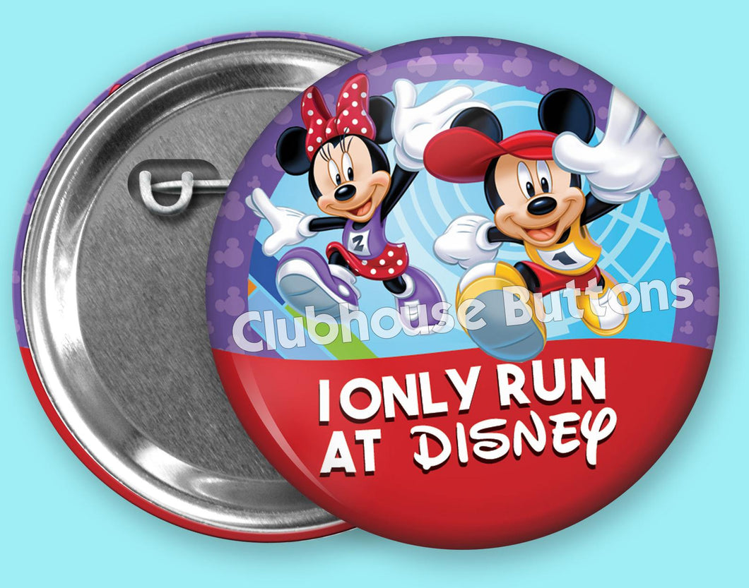 runDisney I only run at Disney