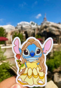 Belle Stitch Sticker
