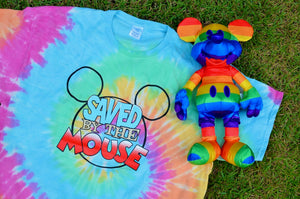 Saved by the Mouse Tie Dye T-shirt
