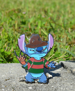 Freddy Krueger Stitch Pin