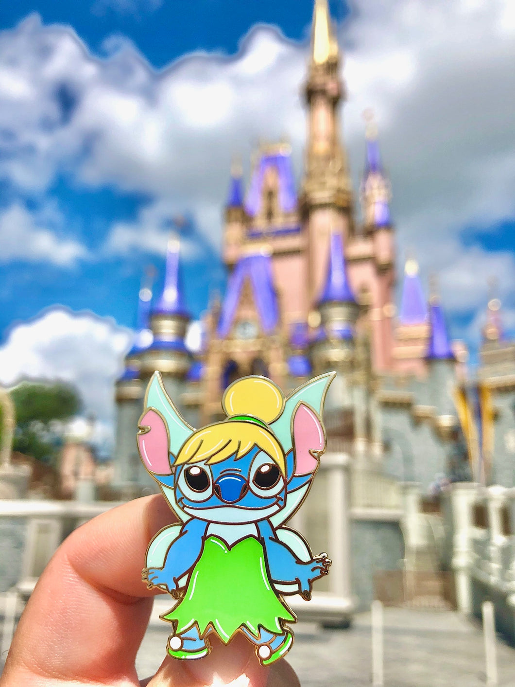 Stitch Tinkerbell Pin