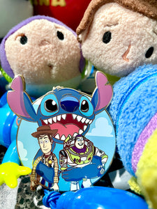 Stitch Toy Story Mashup Pin
