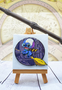 Stitch as Harry Potter Pin