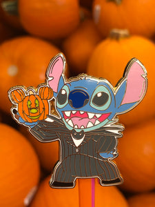 Stitch Jack Skeleton Pin