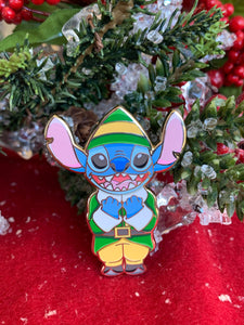 Stitch Buddy The Elf Pin