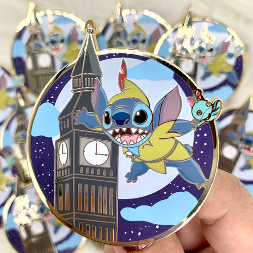 Peter Pan Stitch Mash Up Pin