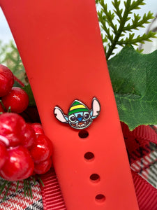 Stitch the Elf Band Button