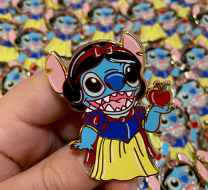 Stitch Snow Pin