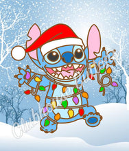 Load image into Gallery viewer, Christmas Lights Stitch Pin