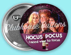 Sanderson Sisters Wine To Focus Button