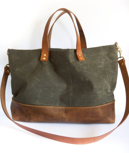 Canvas & Leather ARI Tote