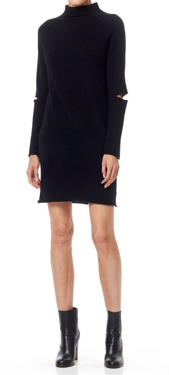 Lynx Cut-Out Sweater Dress