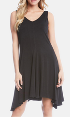 Tie Back Tank Dress