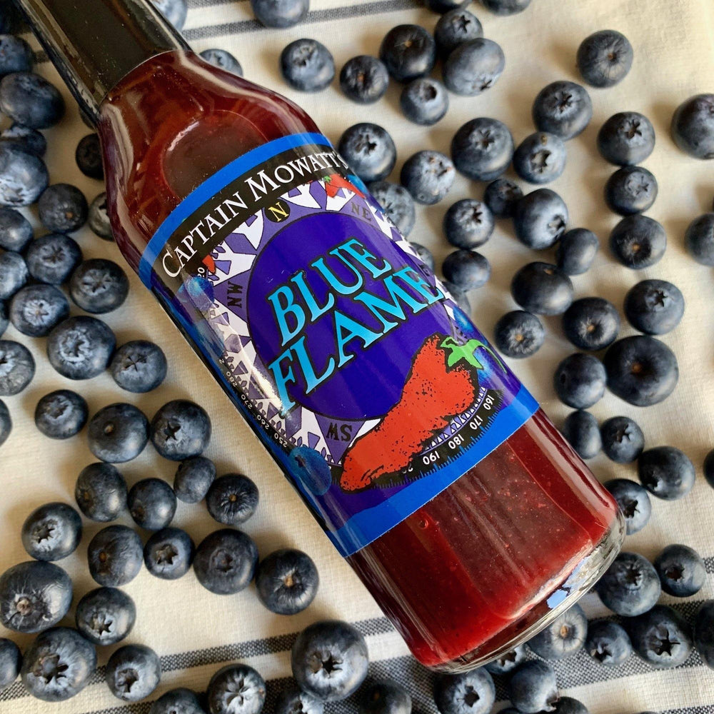 Maine blueberry hot sauce
