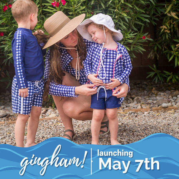 Navy Gingham Collection is Live!