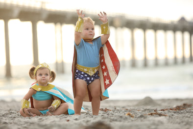 SwimZip DIY Superhero to the Rescue this Halloween!