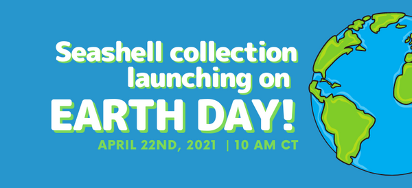Seashell Collection Launching on Earth Day!