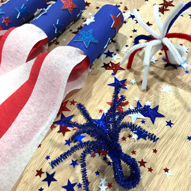 Super Easy, Kid-friendly Crafts to Celebrate 4th of July!