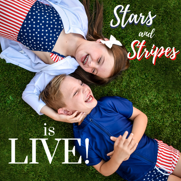 """Stars and Stripes"" Collection is Live!"