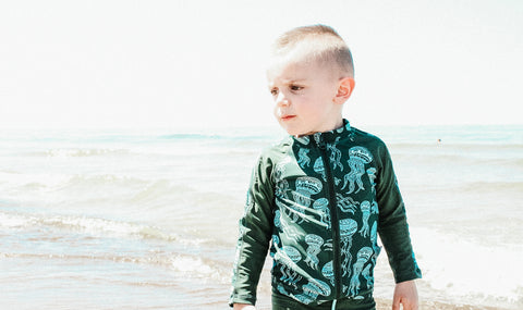 Little Boy Sun Shirt SPF 50 by SwimZip