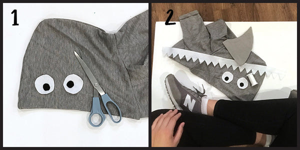 Shark Costume DIY