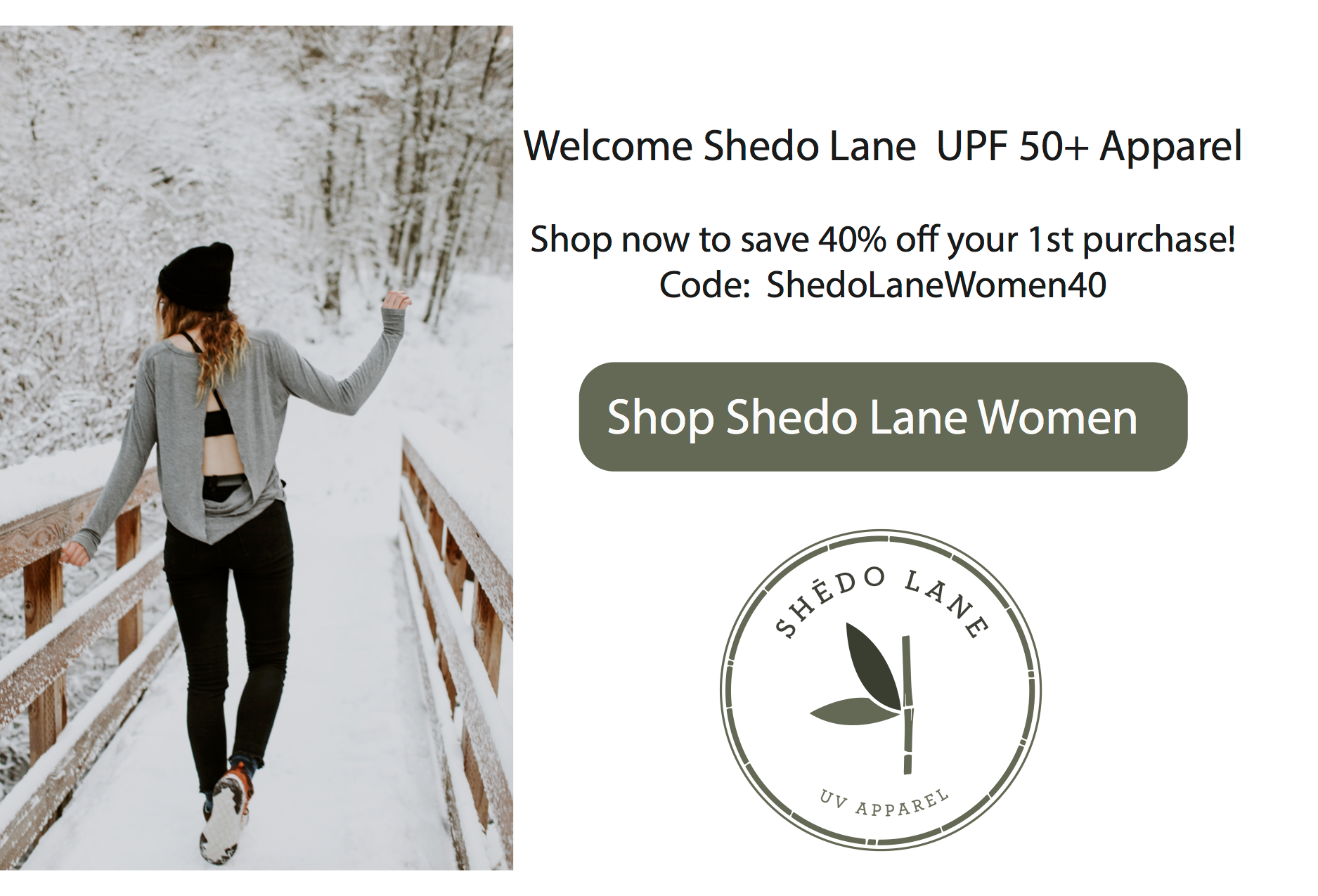 Women Sun Safe Apparel by Shēdo Lane