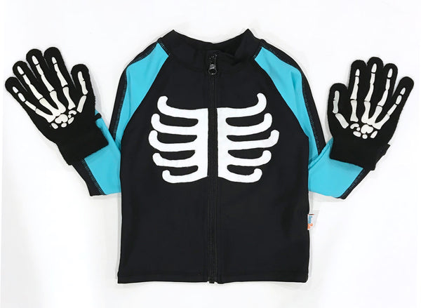 Skeleton Costume DIY