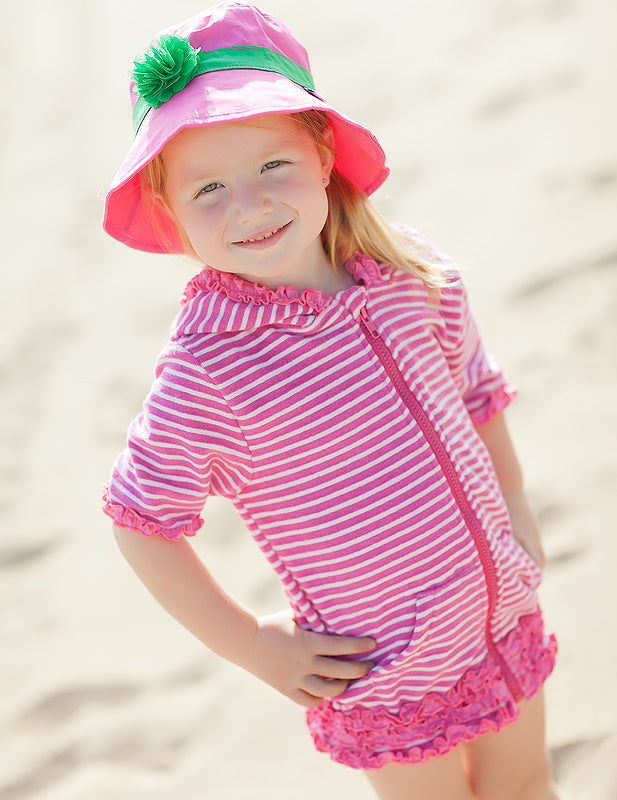 kid beach coverup