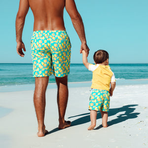"Men's 8""-8.5"" Swim Trunks - Multiple Colors-SwimZip UPF 50+ Sun Protective Swimwear & UV Zipper Rash Guards-pos9"
