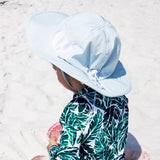 "Kid's Wide Brim Sun Hat ""Fun Sun Day Play Hat"" - Aqua-SwimZip UPF 50+ Sun Protective Swimwear & UV Zipper Rash Guards-pos5"