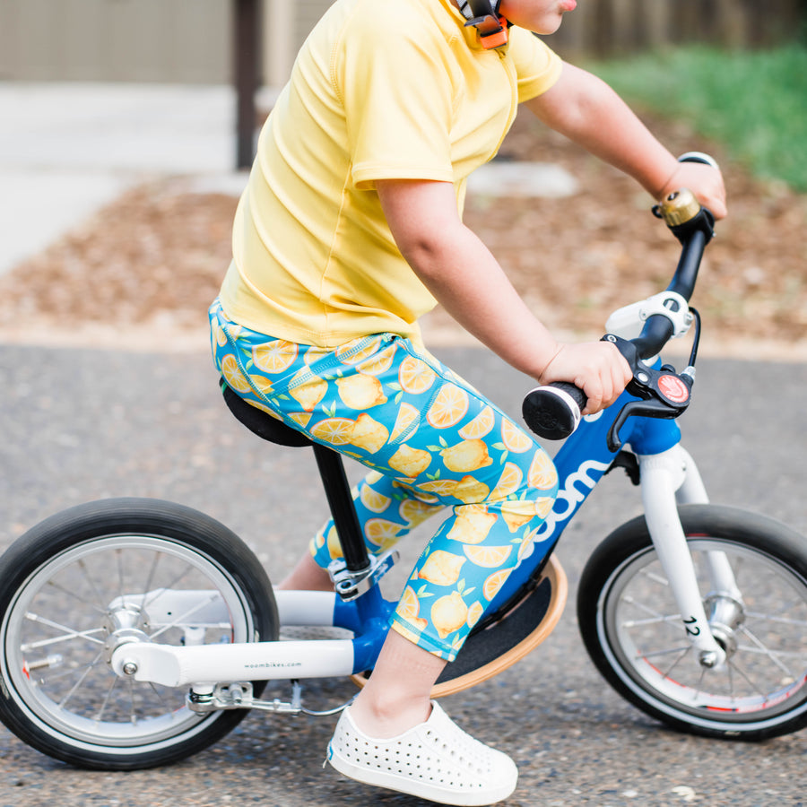 "Kid's Swim Pants - ""Lemons"" - SwimZip Sun Protection Swimwear"