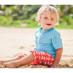 toddler boy sun protective swimwear swimzip