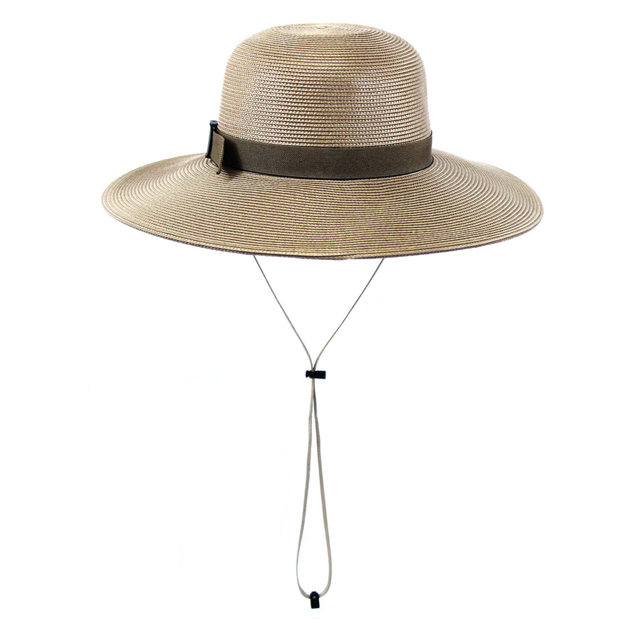 Women's Wide Brim Straw Sun Hat