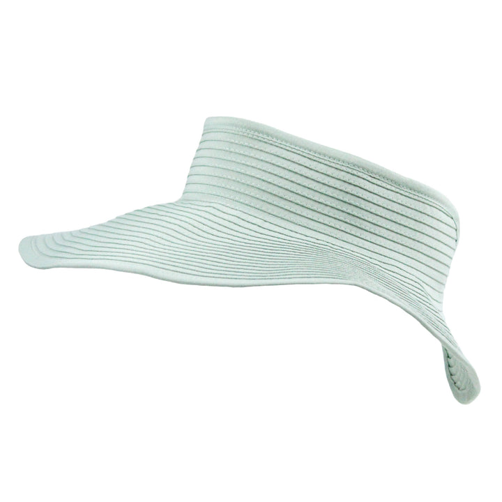 Women's Wide Brim Sun Visor - Mint - SwimZip Sun Protection Swimwear