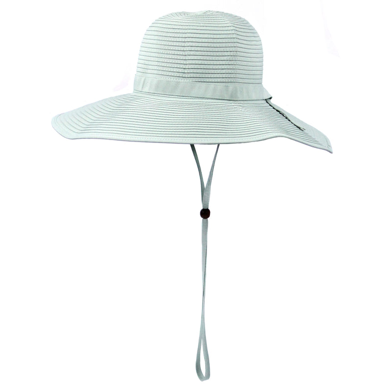 Women's Wide Brim Sun Hat (Multiple Colors)-Adult-Mint-SwimZip UPF 50+ Sun Protective Swimwear & UV Zipper Rash Guards-pos5