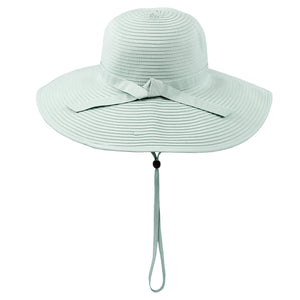 Women's Wide Brim Sun Hat - Mint-Adult-Mint-SwimZip UPF 50+ Sun Protective Swimwear & UV Zipper Rash Guards-pos4