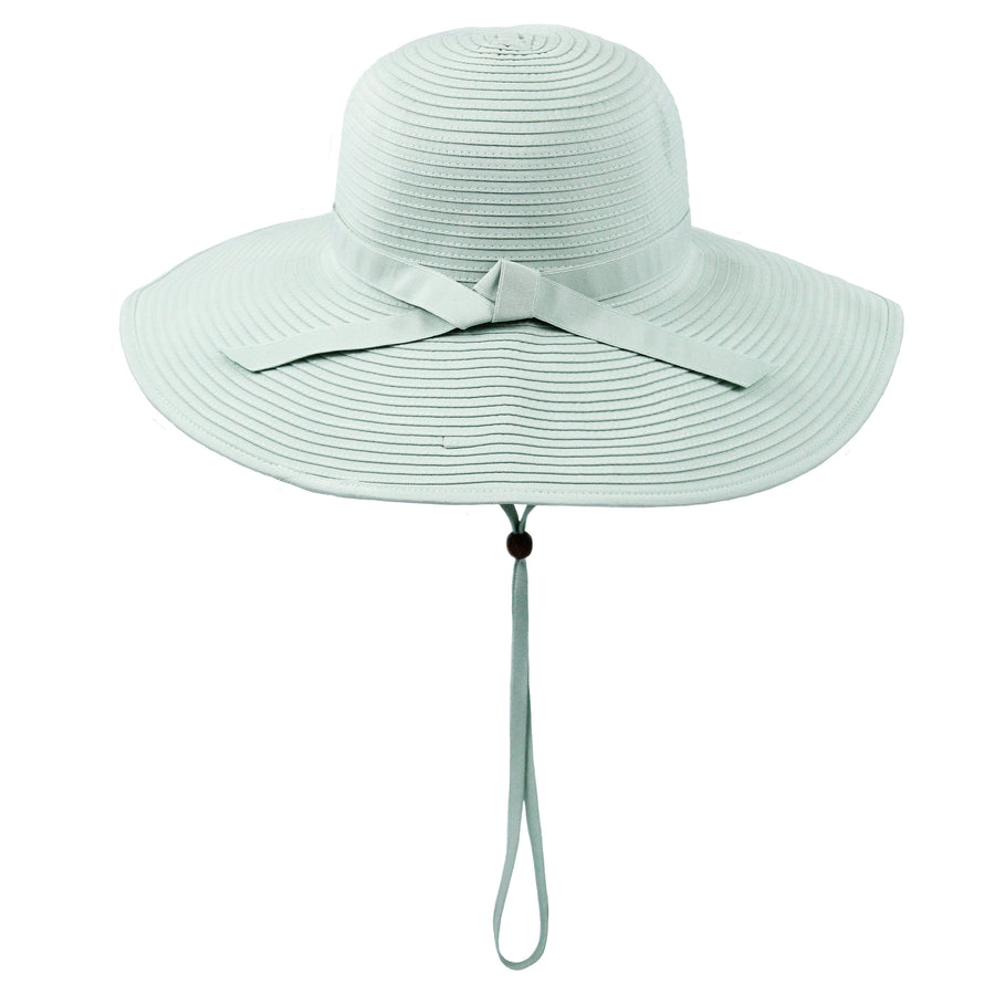 Women's Wide Brim Sun Hat - Mint - SwimZip Sun Protection Swimwear