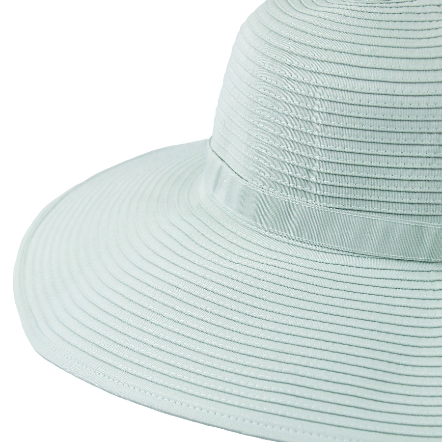 Women's Wide Brim Sun Hat - Mint-Adult-Mint-SwimZip UPF 50+ Sun Protective Swimwear & UV Zipper Rash Guards-pos3
