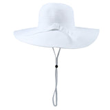 Women's Wide Brim Sun Hat (Multiple Colors)-SwimZip UPF 50+ Sun Protective Swimwear & UV Zipper Rash Guards-pos8