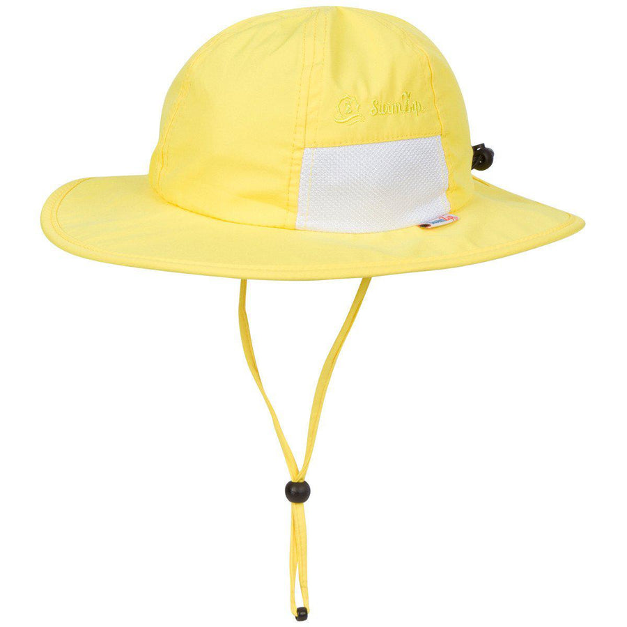toddler yellow hat swimzip