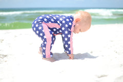 Long Sleeve Romper with UPF 50+ UV Sun Protection -