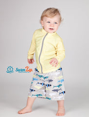 toddler boy shark swimsuit