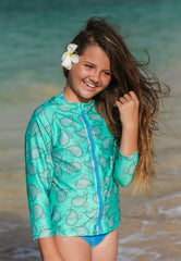 UV Rash Guard Teen Girl