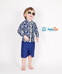 boy uv protective swimsuit