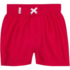 Red UV 50+ Protection Swim trunks by SwimZip