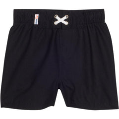 Black Boys Swim Suit Swim Trunks UV Protection by SwimZip