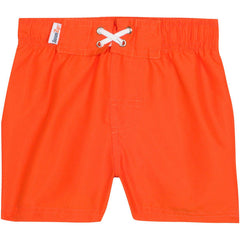 Orange UV swim trunks by SwimZip