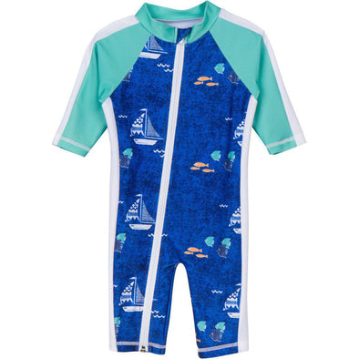 long sleeve sunsuit