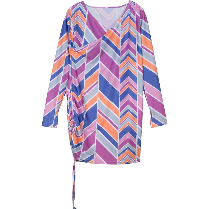 "Women's Sophisticated Swim Dress Cover Up - Cali Girl"" - SwimZip Sun Protection Swimwear"